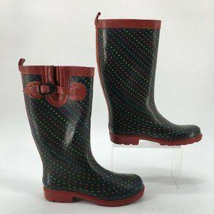 Capelli New York Kids 6 Geometric Shapes Rain Boot